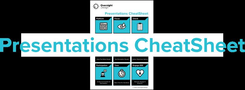 Presentations - CheatSheet-Download